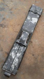 Крышка MG 34 переходник для тромеля