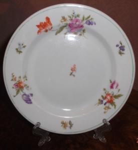 Тарелка DAF десертная, с цветами