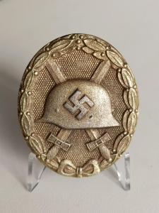 Знак за ранение 1939 в золоте