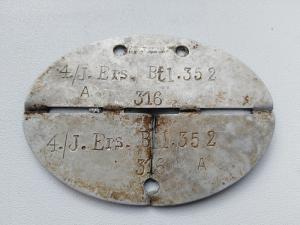 Жетон батальон 352 Вермахта. Определение.