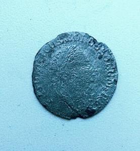 Монета Аргентины 1774г., серебро