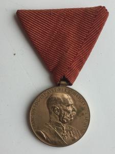 """Австро-Венгрия: Медаль """"Signum Memoriae"""""""