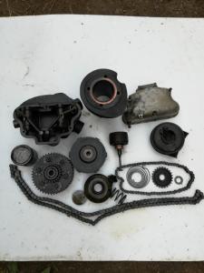 Детали от мотоцикла Victoria KR 35 SN?