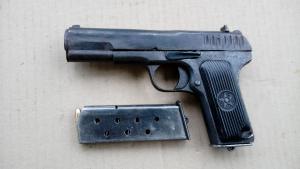 Пистолет ТТ 1940г. Макет.