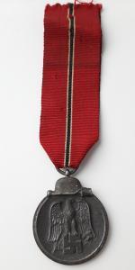 """Медаль """"За зимнюю компанию на востоке 1941-42 гг."""" Клеймо - 55"""