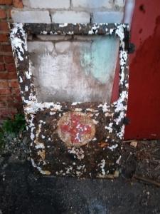 Обшивка двери санитарной машины kfz31