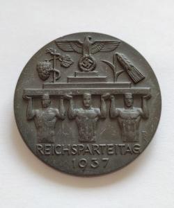 Знак участника съезда НСДАП 1937 года