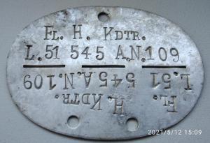 Fl. H. Kdtr. L. 51 545 A