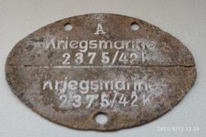 Kriegsmarine 2375/ 42 K