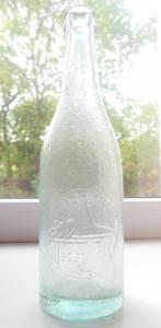Бутылка с еврейской надписью