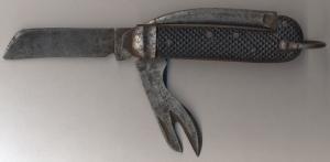Английские складные военные ножи