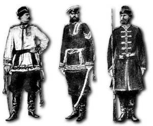 Новая русская форма в I Мировой войне