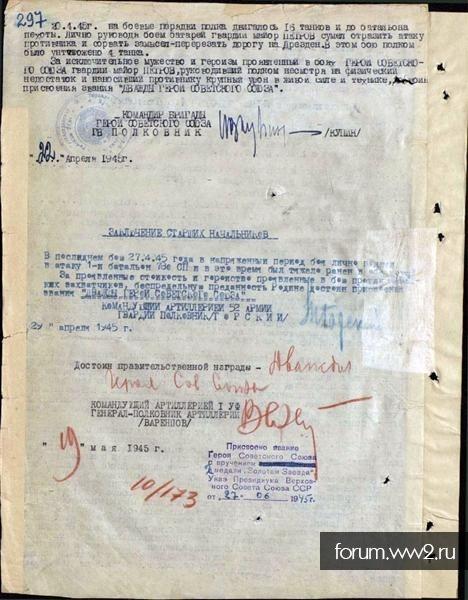 Василий Степанович Петров. День рождения - 22 июня