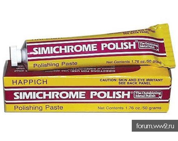Паста для чистки клинков SIMICHROME POLISH