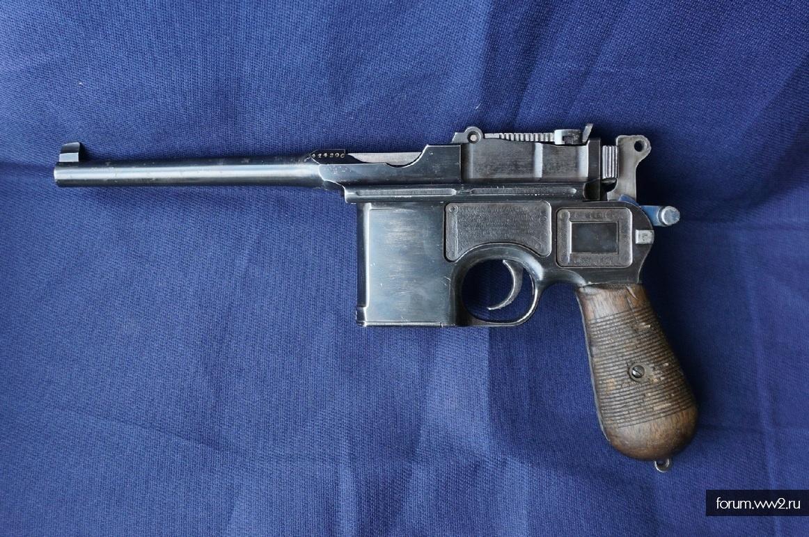ММГ пистолет Маузер К-96 (Mauser C96 Wartime Commercial). Цена 99000р.
