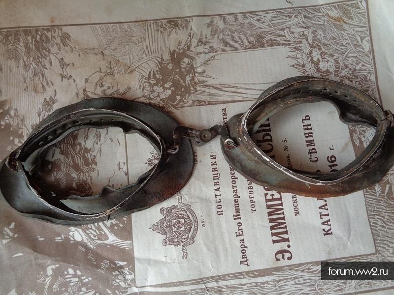 Немецкие мотоциклетные очки и пепельница окопное творчество