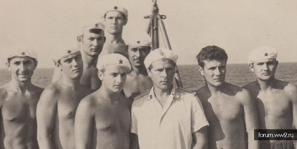 МП КТОФ в белых беретах 1968г. (фото)