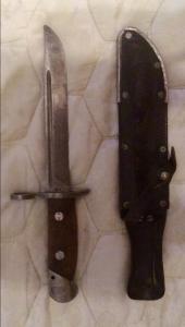 финский штык-нож для М/39