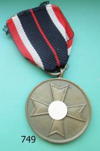 749. Медаль креста военных заслуг