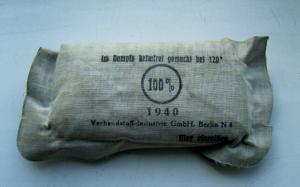 Немецкий перевязочный пакет 1940