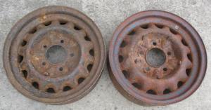 Колесные диски ГАЗ М-1.