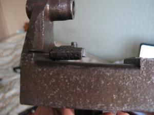 Направляющая планка к машинке для снаряжения матерчатых лент пу. Максима.
