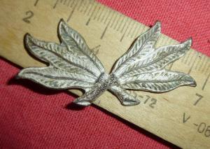 кокарда лесника ? листья