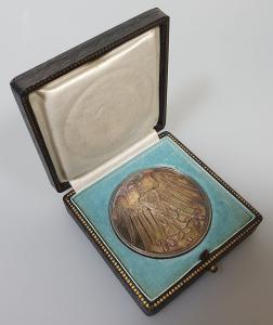 Настольная медаль за спасение жизни