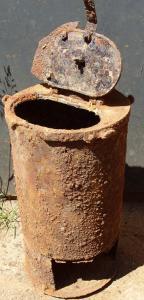 Блиндажная печка -вермахт -2