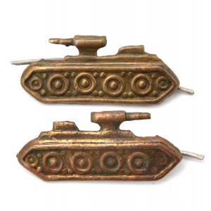 Эмблемы увеличенные образца 1936 года на петлицы АБТВ РККА