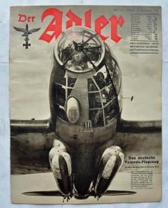 Журналы Der Adler №21 октябрь 1941