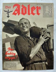 Журналы Der Adler №18 сентябрь 1941