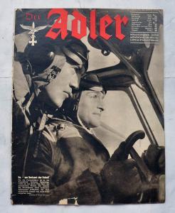 Журнал Der Adler №8 апрель 1941