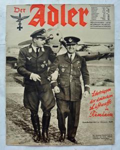 Журналы Der Adler №3 февраль 1941