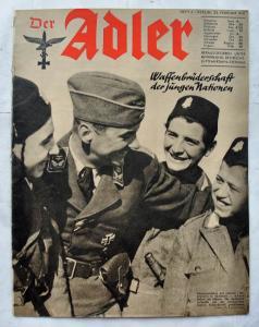 Журналы Der Adler №4 февраль 1941