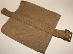 Чехол для ношения Фляги 1944 год. Англия. Клеймо. Оригинал! с фурнитурой