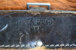 Клейма СС на кожаной экипировке