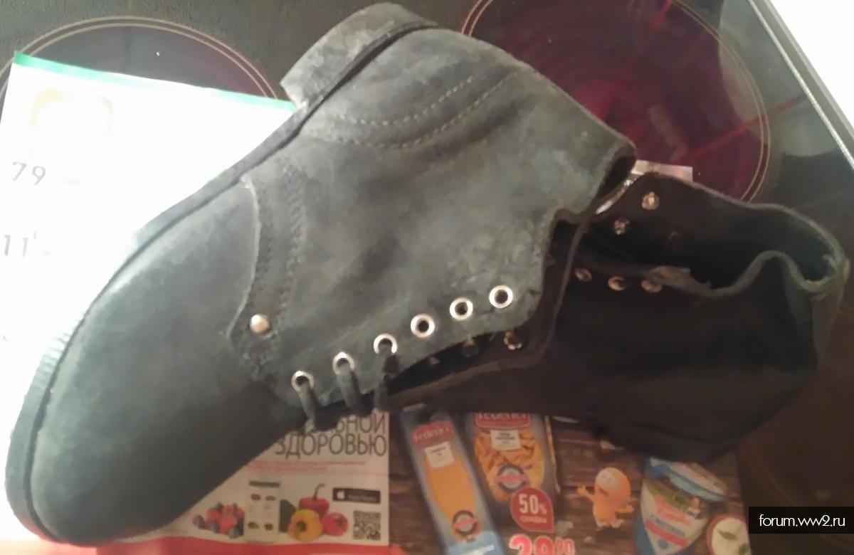 Ботинки для реконструкции РККА 41-й и 42-й размер