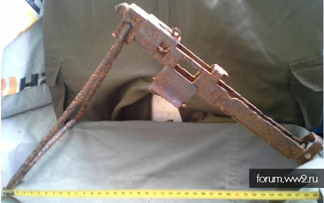 От какого стрелкового оружия данная часть