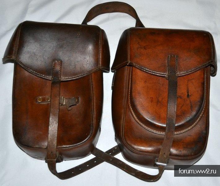Армейские седельные сумки.