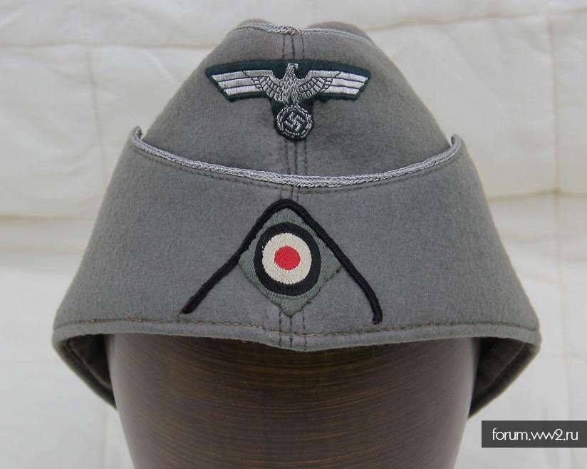 Офицерская пилотка сапер Вермахт