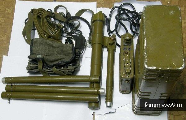Заглушка штепсельного разъёма миноискателя (СССР)