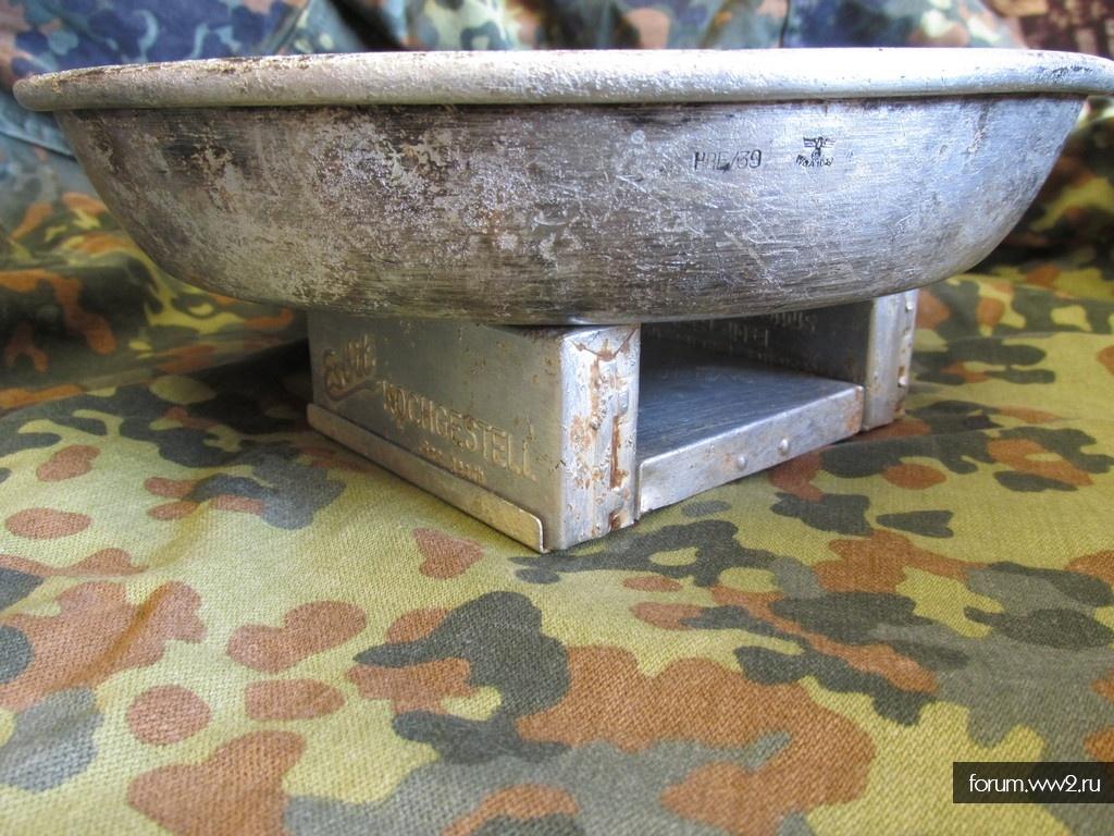 Печка Esbit и тарелка