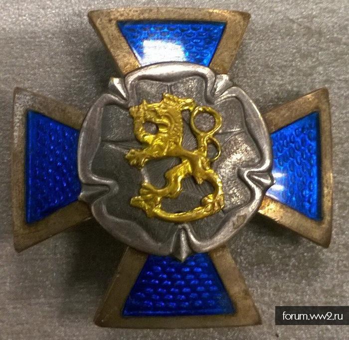Крест Финляндия?