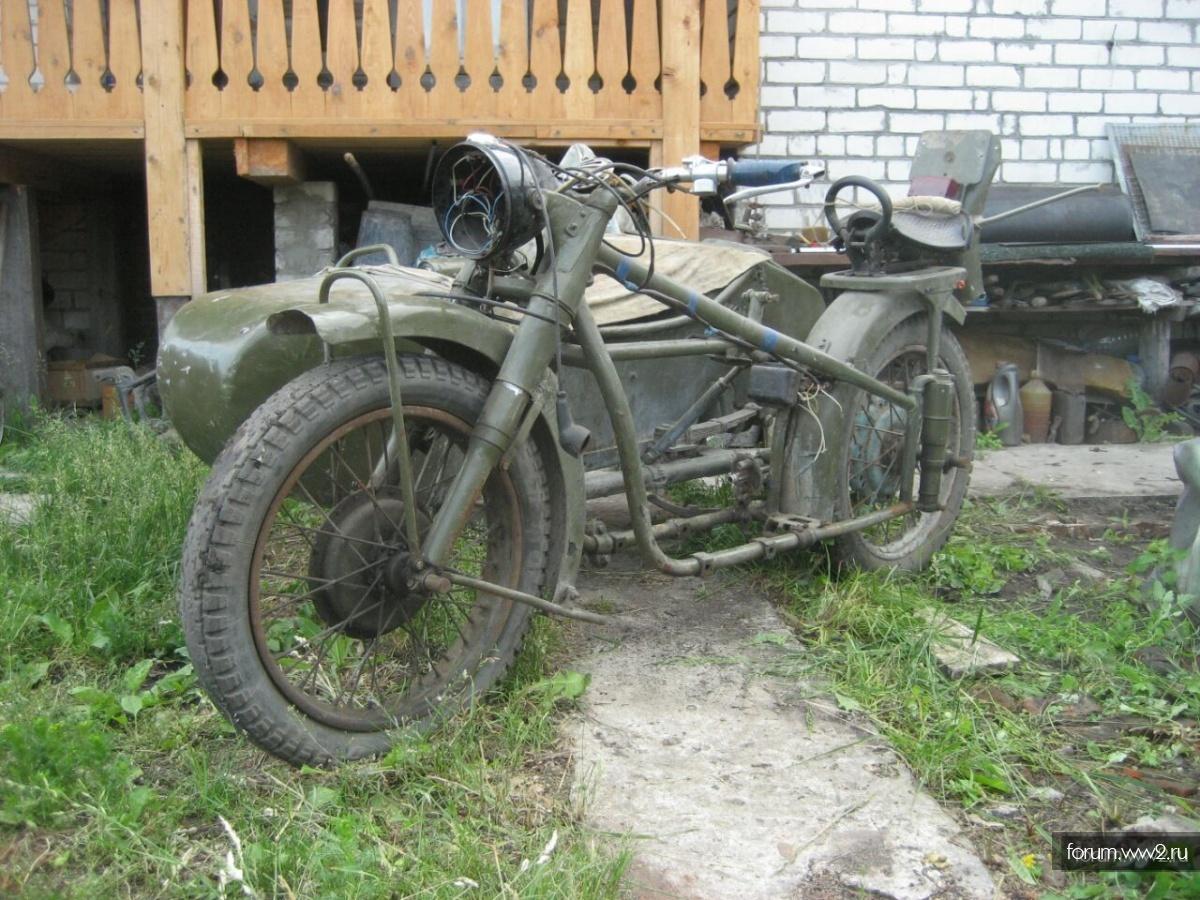 Ранний  М-72 (примерно 41 год )