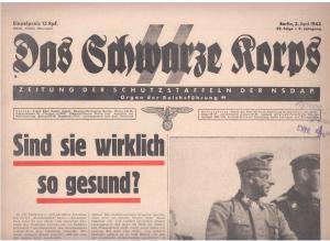 Das Schwarze Korps на подтверждение