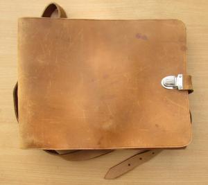 офицерская сумка с ремнем