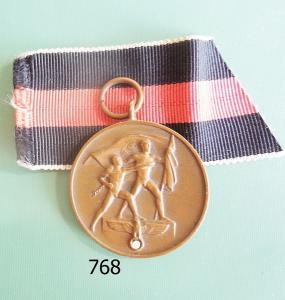 """768. Медаль в память """"Присоединения Судетской области"""""""