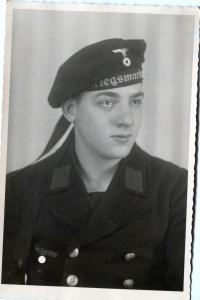 Портретное фото матроса Кригсмарине
