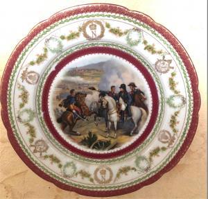 Тарелка с вензелем N